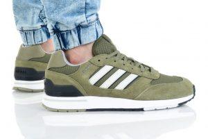 נעלי סניקרס אדידס לגברים Adidas Run 80s - ירוק