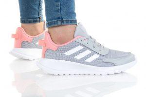 נעלי ריצה אדידס לנשים Adidas Tensaur Run K - אפור בהיר