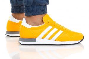 נעלי סניקרס אדידס לגברים Adidas Originals USA 84 - צהוב