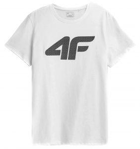חולצת T פור אף לגברים 4F NOSH4 TSM353 - לבן
