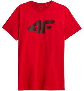 חולצת T פור אף לגברים 4F NOSH4 TSM353 - אדום