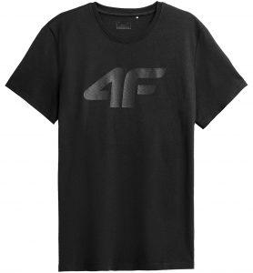 חולצת T פור אף לגברים 4F NOSH4 TSM353 - שחור