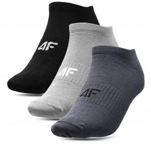 גרב פור אף לגברים 4F socks 3 IN PACK - אפור
