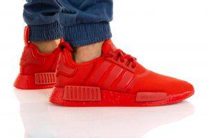 נעלי סניקרס אדידס לגברים Adidas NMD_R1 - אדום