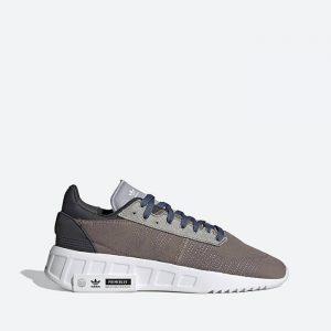 נעלי סניקרס אדידס לגברים Adidas Originals Geodiver Primeblue - צבעוני כהה