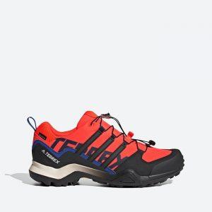 נעלי טיולים אדידס לגברים Adidas Terrex Swift R2 Gtx - כתום
