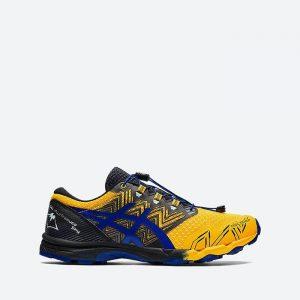 נעלי ריצה אסיקס לגברים Asics Gel-FujiTrabuco SKY - צהוב