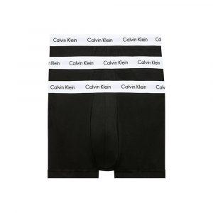 תחתוני קלווין קליין לגברים Calvin Klein LOW RISE 3 IN PACK - שחור/לבן