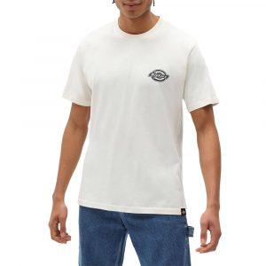 חולצת T Dickies לגברים Dickies Bigfork - לבן