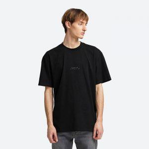 חולצת T Edwin לגברים Edwin Nazo TS - שחור