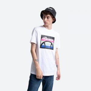 חולצת T אלסה לגברים Ellesse Pinupo - לבן