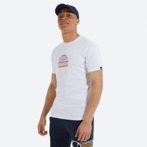 חולצת T אלסה לגברים Ellesse Puoi - לבן