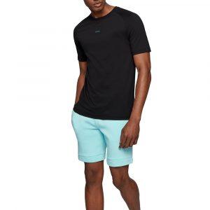 חולצת T הוגו בוס לגברים HUGO BOSS Rear Logo Artwork - שחור