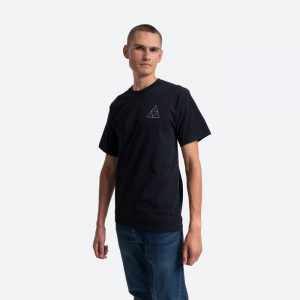 חולצת T HUF לגברים HUF Holoshine Foil - שחור