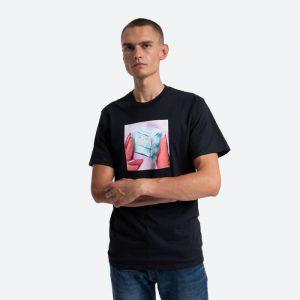 חולצת T HUF לגברים HUF Ice Melts - שחור
