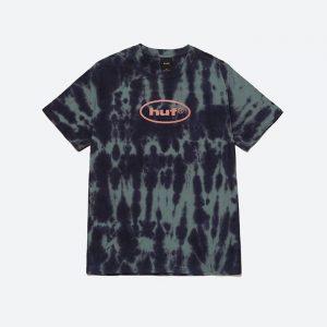 חולצת T HUF לגברים HUF LSD Tiedye - כחול