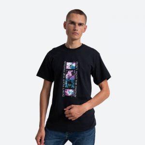 חולצת T HUF לגברים HUF Natural High - שחור