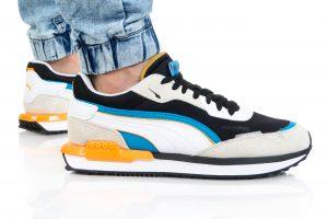 נעלי סניקרס פומה לגברים PUMA CITY RIDER - צבעוני בהיר