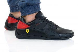 נעלי סניקרס פומה לגברים PUMA FERRARI DRIFT CAT DELTA - שחור