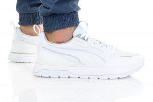 נעלי סניקרס פומה לגברים PUMA R78 TREK - לבן