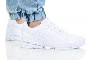 נעלי סניקרס פומה לגברים PUMA RESPIN SL - לבן