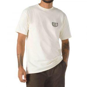 חולצת T ואנס לגברים Vans Og Patch - בז'