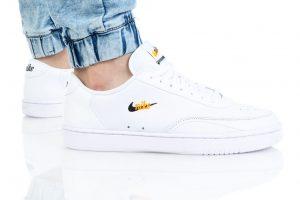 נעלי סניקרס נייק לגברים Nike COURT VINTAGE PREM - לבן