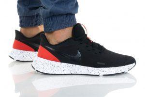 נעלי ריצה נייק לגברים Nike REVOLUTION 5 - שחור/אדום