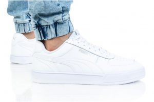 נעלי סניקרס פומה לגברים PUMA CAVEN - לבן