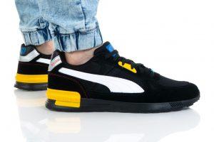 נעלי סניקרס פומה לגברים PUMA GRAVITON PRO - שחור/צהוב