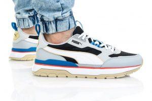 נעלי סניקרס פומה לגברים PUMA R78 TREK - צבעוני כהה