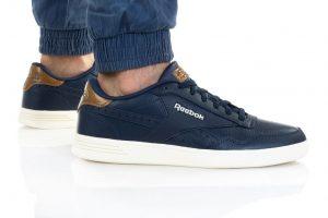 נעלי סניקרס ריבוק לגברים Reebok ROYAL TECHQUE T - חוםכחול