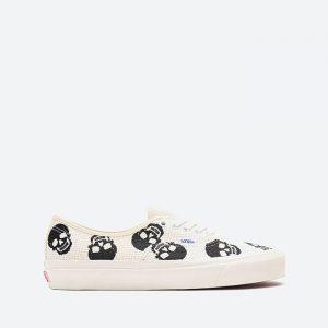 נעלי סניקרס ואנס לגברים Vans Authentic 44 Needle Point - לבן