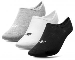 גרב פור אף לנשים 4F socks 3 IN PACK - לבן