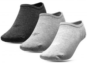 גרב פור אף לנשים 4F socks 3 IN PACK - אפור