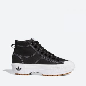 נעלי סניקרס אדידס לנשים Adidas Originals Nizza Trek - שחור
