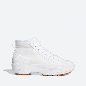 נעלי סניקרס אדידס לנשים Adidas Originals Nizza Trek - לבן