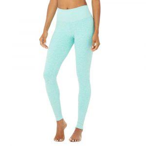 טייץ אלו יוגה לנשים Alo Yoga High-Waist Alosoft Lounge - כחול