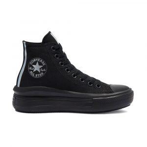 נעלי סניקרס קונברס לנשים Converse CHUCK TAYLOR ALL STAR MOVE - שחור