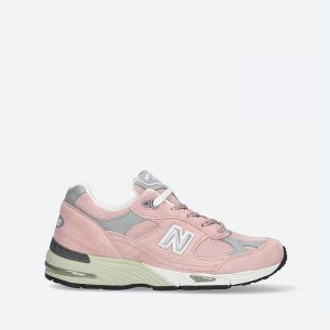 נעלי סניקרס ניו באלאנס לנשים New Balance 991 - ורוד