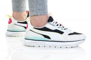 נעלי סניקרס פומה לנשים PUMA R78 TREK - שחור
