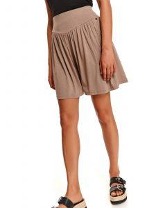 חצאית מיני טופ סיקרט לנשים TOP SECRET Adele - בז'