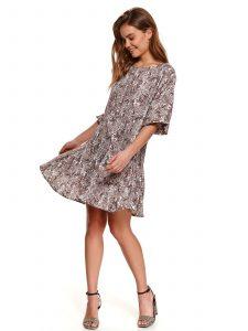 שמלה קצרה טופ סיקרט לנשים TOP SECRET Anna - צבעוני