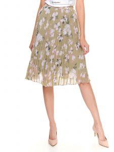 חצאית ארוכה טופ סיקרט לנשים TOP SECRET Brooklyn - צבעוני בהיר