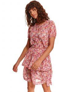שמלה קצרה טופ סיקרט לנשים TOP SECRET Candy - ורוד