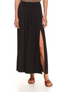 חצאית ארוכה טופ סיקרט לנשים TOP SECRET Cleft - שחור
