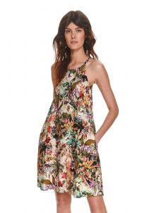 שמלה קצרה טופ סיקרט לנשים TOP SECRET Colourful - צבעוני