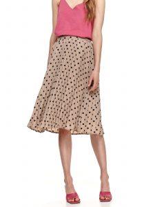 חצאית ארוכה טופ סיקרט לנשים TOP SECRET DOT - בז'