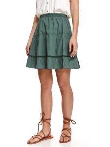 חצאית מיני טופ סיקרט לנשים TOP SECRET DRKGR - ירוק