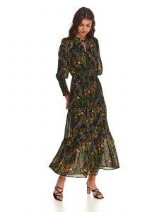 שמלה ארוכה טופ סיקרט לנשים TOP SECRET Eva - ירוק